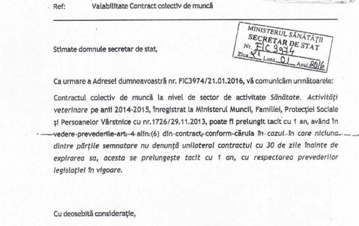 Acord prelungire CCM 2016